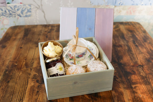 Individual Afternoon Cream Tea Box