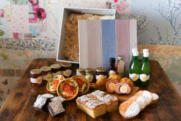 Large Luxury Produce Box - Wood